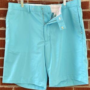RLX Ralph Lauren Blue Featherweight Cypress Shorts